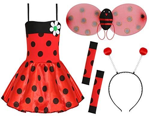0205PQP9PYY I Love Fancy Dress – Déguisement Coccinelle pour Filles