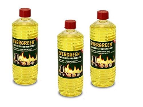 Ignis Egreen Pasta Combustibile Fonduta Bottiglia Lt.1 Egreen