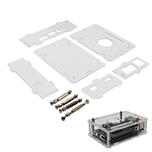 ILS - transparante acryl case beschermhoes voor Orange PU Plus 2E en Orange Pi Prime