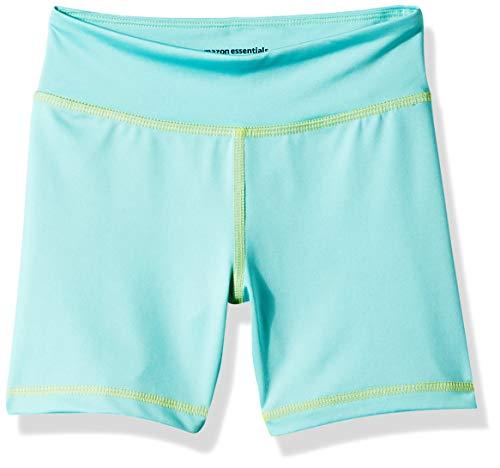 Amazon Essentials Toddler Girls' Stretch Active Short, Aqua, 3T
