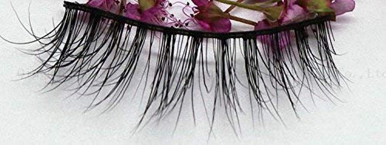 発生クリエイティブアーティスト3D自然な 高級ミンクつけまつげ 全く天然なミンク毛で手作り 収納ケース付け SA16