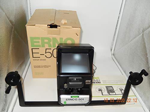 Erno E-501 Filmbetrachter für Super 8/Single 8 Filmemit Bedienungsanleitung im OVP,war MUSTERSTÜCK
