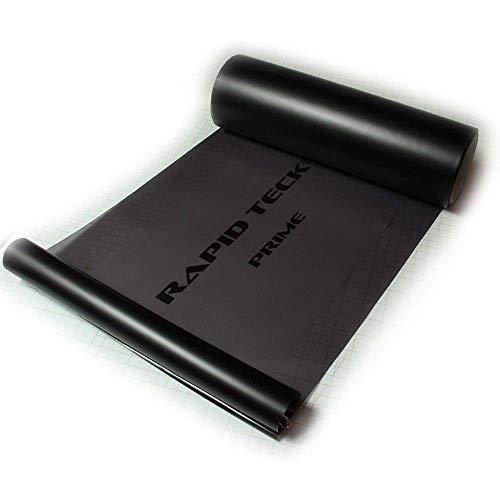 Rapid Teck® 16,67€/m² Scheinwerfer-Tönungsfolie Schwarz Matt 2 m x 30 cm Autofolie Scheinwerfer Rückleuchten tönen
