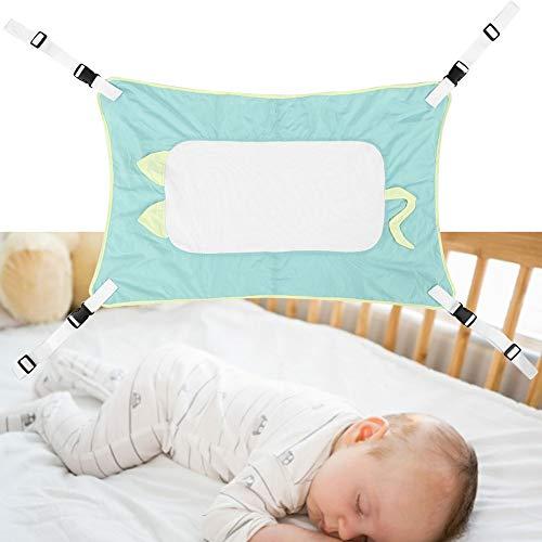 Baby Hängematte, Cartoon Neugeborenes Baby Kind Kleinkind Weiche Einfache Schlafende Hängematte Schlaf solider(Green -Grün)