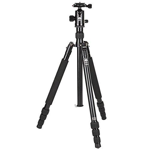 Sirui T-004X tripode Digitales / cámaras de película 3 pata(s) Negro - Trípode (Digitales / cámaras de película, 6 kg, 3 pata(s), 139 cm, Negro, Sistema de bloqueo por giro Twist Lock o Sistema de cierre tipo rosca Twist Lock)