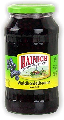Hainich Waldheidelbeeren 580ml Glas Thüringer Heidelbeeren