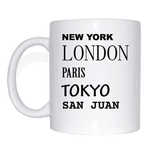 Nueva York, Londres, París, Tokio, San Juan Cup of Coffee