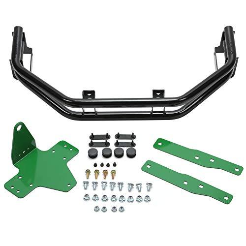 Rear Bumper Bar and Hitch Kit Zero-Turn Mowers Compatible with John Deere Z235, Z255, Z335E, Z335M, Z345M, Z345R, Z355E, Z375R, BM2448