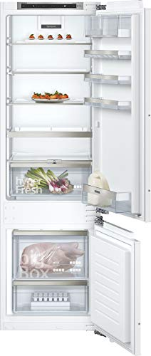 Siemens KI87SADD0 iQ500 Einbau-Kühlgefrierkombination / A+++ / 149 kWh/Jahr / 269 l / lowFrost / hyperFresh Premium 0° / LED Beleuchtung