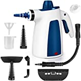Dr. Purifier Multi-Purpose Handheld Pressurized Steam Cleaner with 9-Piece Accessories for Cars, Upholstery, Couch, Carpet, Furniture, Bathroom