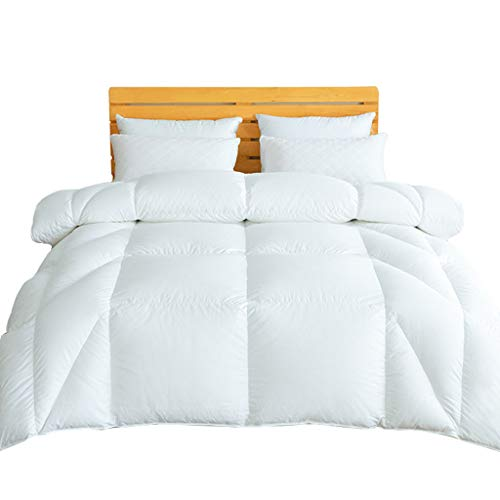 For Sale! Quilt Quilted Duvet 95% White Goose Down Winter Thickened Double Hotel Authentic Winter co...
