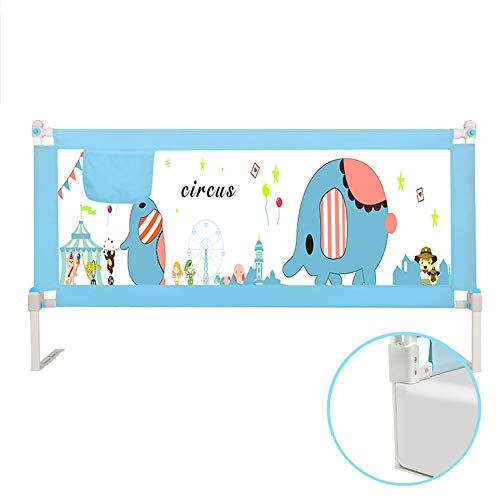 Best Bargain LLF Baby Bed Rail, Adjustable Vertical Lifting Toddler Kids Safety Bed Guard with Locka...