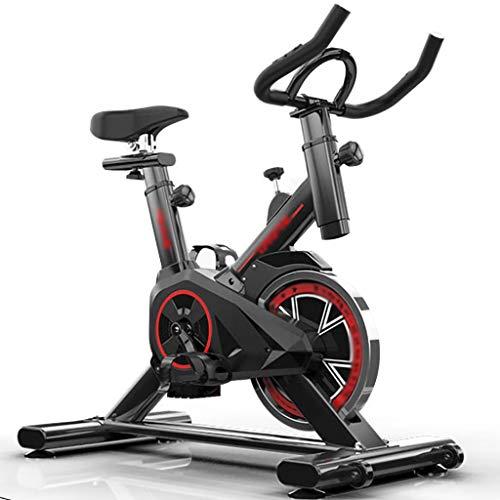LJMG Bicicletas estáticas y de Spinning Bicicleta Estacionaria para El Hogar Ultra Silenciosa Sala De Spinning Bicicleta De Interior Bicicleta De Spinning Vertical Bicicleta De Ejercicio