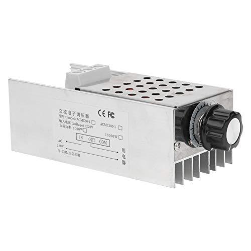Termostato SCR, 10000W de potencia ultra alta, regulador de voltaje SCR, regulador de velocidad, termostato AC 110V 220V para horno eléctrico, calentador de agua, lámpara, motor pequeño