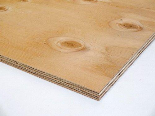 針葉樹合板(構造用合板) 厚み12mm  JAS F☆☆☆☆ 棚板・コンパネ (900×600mm)