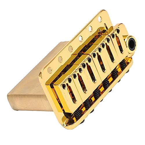 CUTULAMO Puente De Trémolo para Guitarra, Amplia Gama De Aplicaciones Durabilidad del Puente De Trémolo con Base De Latón para Reemplazo De Guitarra Eléctrica ST GA221