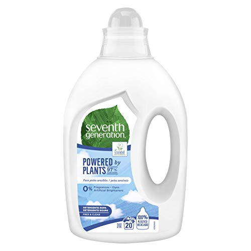 Seventh Generation - Free & Clear - Detergente para Ropa