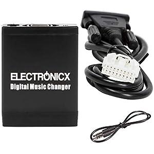 Electronicx Elec-M06-BM1 Adaptador de Musica para Coche USB, SD, AUX para BMW, Land Rover, Mini Rundpin, Cambiador de CD: Amazon.es: Electrónica