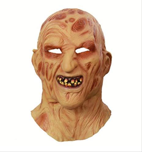 Halloween Masker Cosplay Freddy Krueger Masker Party Masker Volwassen Enge Horror Kostuum Fancy Dress Enge Masker Halloween Kerstmis