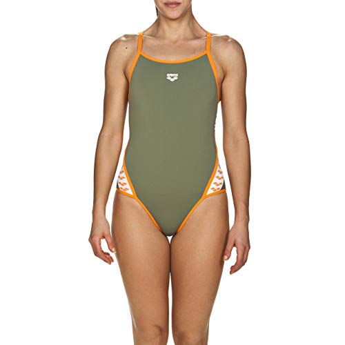 arena Team Stripe Women's Super Fly Back One Piece