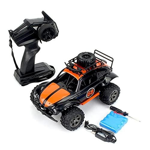 SFOOS Simulación clásica Control remoto Coche Off-Road Electric RC Camión Modelo de camión Vehículo de juguete, Año Nuevo para niños Regalo de cumpleaños de Navidad Anti-Collision y Coche de juguete i