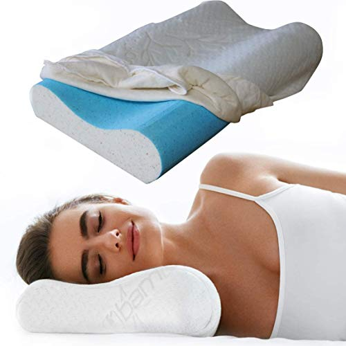 Back Support Systems BeCool Neck Contour Pillow