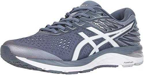ASICS Men's Gel-Cumulus 21 Running Shoes, 10.5M, Metropolis/White