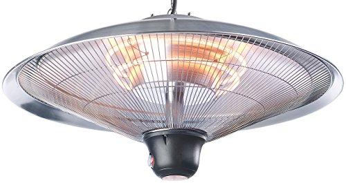 Semptec Deckenheizstrahler: IR-Decken-Heizstrahler mit LED-Licht, Fernbedienung, bis 2.000 W, IP34 (Infrarotheizstrahler) - 7