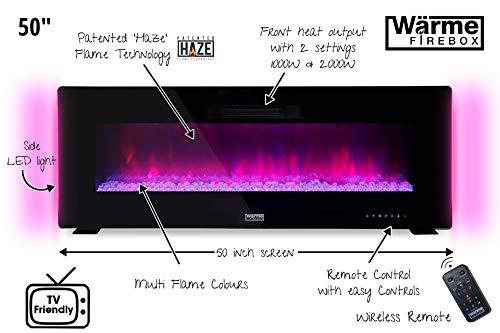 Wärme Firebox Designer Electric Fireplace - 50