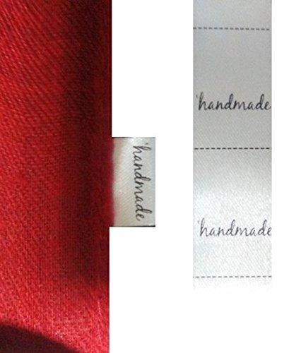 200 etiquetas textiles Handmade