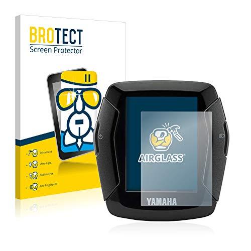 BROTECT Panzerglas Schutzfolie kompatibel mit Yamaha LCD-C Display 2019 (E-Bike Display) - AirGlass, 9H Härte, Anti-Fingerprint, HD-Clear