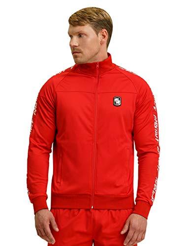 Amstaff Männer Zerura Trainingsjacke Sportjacke Rot XL
