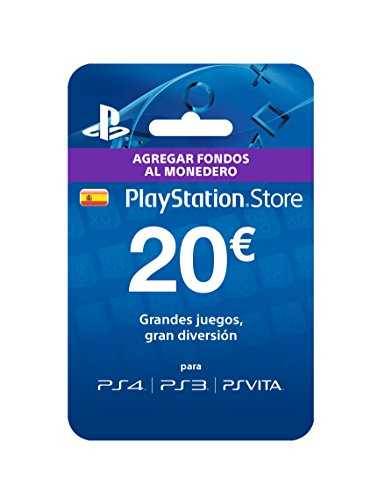Sony - Tarjeta Prepago 20€ Código Digital