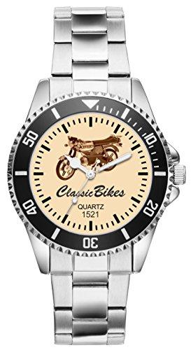 Geschenk für Kreidler Florett Zündapp Puch Biker Fans Fahrer Kiesenberg Uhr 1521