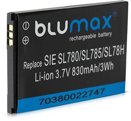 Blumax Akku kompatibel mit Siemens Gigaset 3,7V / 830mAh Li-ion ersetzt SL400H / SL78H