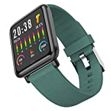 QFSLR Smartwatch, 1.3 Zoll Touch Farbdisplay Fitness Watch, Fitness Tracker Sportuhr, Mit...