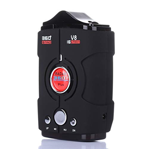 Fantastic Prices! Radar Laser and GPS Speed Camera Voice Alert and Car Speed Alarm System with 360 D...