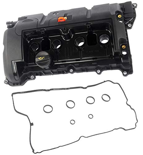 KARPAL Cylinder Head Engine Valve Cover with Gasket 11127646554 Compatible With Mini Cooper R56 R55 R57 R58 R59 R60