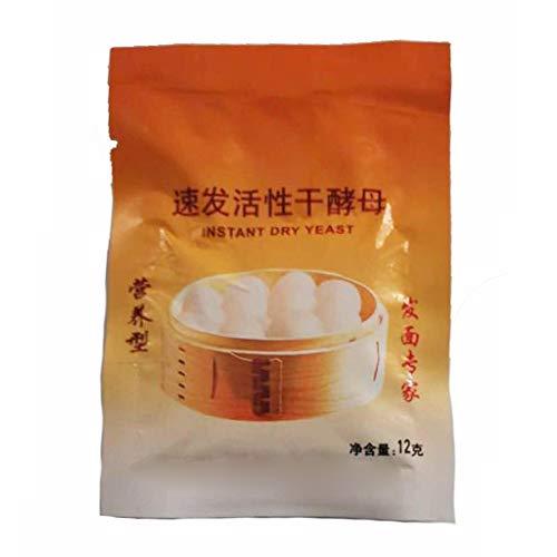 Koehope 60g Actieve drooggist brothefe met hoge glucosetolerantie Onmiddellijk droog gist, zeer actief poederbakken