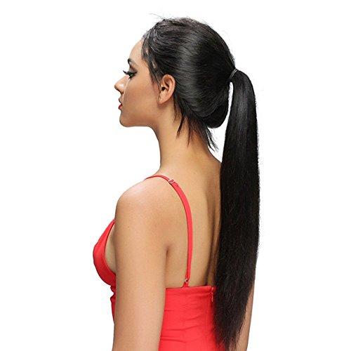 13X6 Straight Kant Voor Menselijk Haar Pruiken Pre Geplukt Met Natuurlijke Haar Lijmloze Lange Pruiken (150% Dichtheid) Gebleekte Knopen Braziliaanse Remy Haar Voor Zwarte Vrouwen