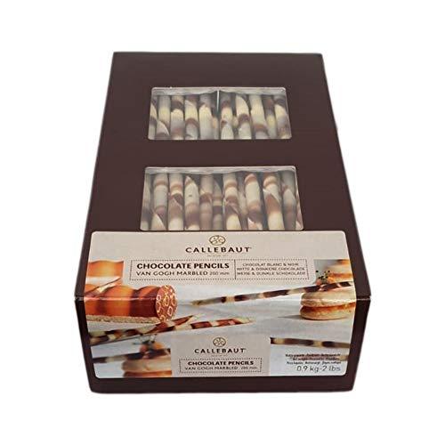 Callebaut Sigaretta matita Cioccolato fondente e bianco cremosa VAN GOGH 900 Gr. Pencils chocolate per decorare dessert dolci torte