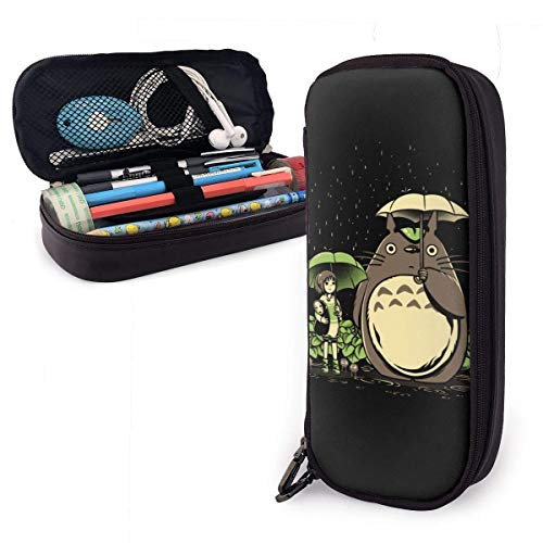 YOLOP Federmäppchen Pencil Case Big Capacity Storage Pen Pencil Pouch Desk Organizer Practical Bag Holder with Zipper - Spirited Away Chihiro and Totoro