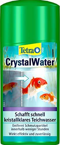 Tetra Pond CrystalWater (für kristallklares Wasser im Gartenteich, Wasserklärer gegen Trübungen), 500 ml Flasche