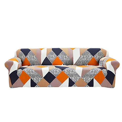 Nicetruc Sofá Cover Estiramiento elástico Cubierta Sofá para Sala de Estar en Forma de L Sillón (L)