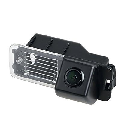 Rueckfahrkamera-wasserdicht-Nachtsicht-Rueckansicht-Kamera-Einparkhilfe-Rueckfahrsystem-Kennzeichenleuchte-Schwarz-fuer-VW-Golf-6-MK6-CC-VW-Magotan-Polo-Hatchback-VW-Beetle-Bora-Jetta-Skoda-Yeti