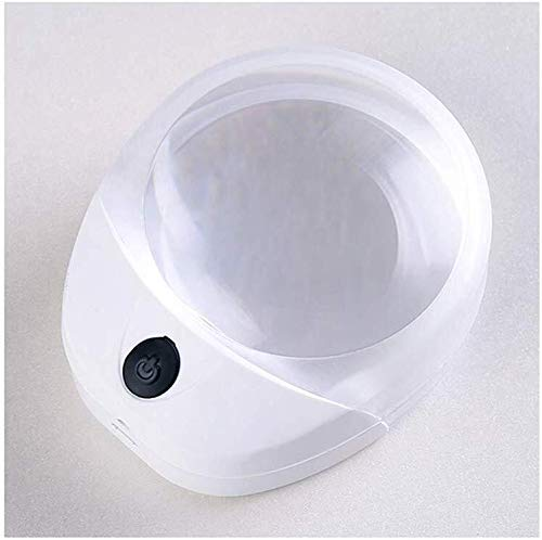 ZTHUAYUAN Lupa de artesanía Creativa Lupa Lupa LED pisapapeles portátil Mini Lupa de Escritorio Lupa para Leer
