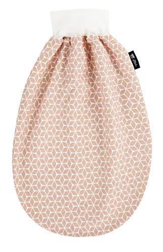 Alvi Baby Schlupfmäxchen light Exclusiv   Schlafsack 0-6 Monate   Baby-Schlafsack 100{c28a440d52e347310ac45fb909c99117e42aa34138373d25c24cfff4e8d2f59e} Baumwolle   Sommerschlafsack waschbar, Design:Raute rosa dunkel