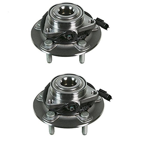 Detroit Axle 515151 Front Driver and Passenger Wheel Hub and Bearing Assembly for 2012 2013 2014 2015 2016 Dodge Ram 1500 All Models