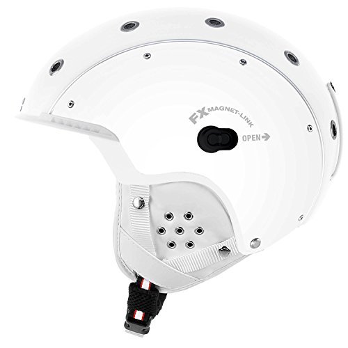 Casco Herren Skihelm SP3 Airwolf Weiss (100) M
