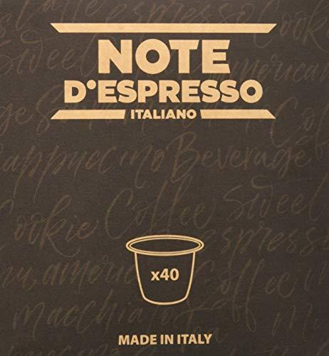 Note DEspresso - Capsulas de tisana de frutas del bosque exclusivamente compatibles con cafeteras Nespresso*, 3g (caja de 40 unidades)